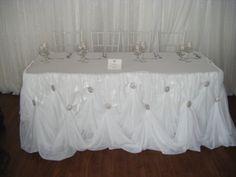 Cinderella Head Table.....Beautiful!