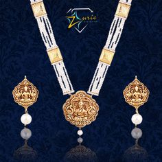 Give your traditional look an instant lift with this fabulous temple jewellery pendant set by Zurie along with Pearl and Pure Gold Brooch strings attached to it, it's sure to be the centre of attraction. ‪#‎graceful‬ ‪#‎awesome‬ ‪#‎craftedforyou‬ ‪#‎modern‬ ‪#‎tradition‬ ‪#‎templejewellery‬ ‪#‎pendantset‬ ‪#‎zurie‬ ZURIE's photo.