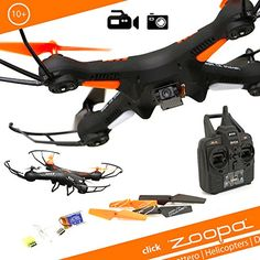 zoopa zq0420-Acme-Q 420Cruiser quadrokopter, 720p HD Cam, giroscopio de 6ejes Sistema, 2.4GHz Mando a distancia, Propeller Protección, 360grados flip - http://www.midronepro.com/producto/zoopa-zq0420-acme-q-420-cruiser-quadrokopter-720p-hd-cam-giroscopio-de-6-ejes-sistema-2-4-ghz-mando-a-distancia-propeller-proteccion-360-grados-flip/