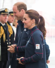 July 26, 2015 - Kate Middleton and Prince William America's Cup Event 2015 | POPSUGAR Celebrity