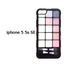 アメリカ の アイメイク プリント Makeup Kit iphone 5 5s SE ca…