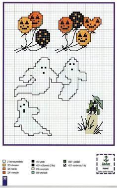 хэллоуин схемы вышивки - Поиск в Google