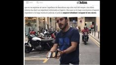 """Dem bekannten Fotojournalist Jordi Borras wurde die Nase gebrochen, während der Angreifer rief: """"Es lebe Franco!"""""""
