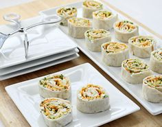 Vegetable Tortilla Roll Ups @ Culinary Hill