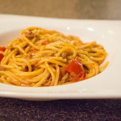 Creamy chorizo pasta