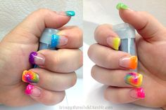 Pictures Of Gel Nail Designs Nail Designs Tumblr, Nail Tip Designs, French Nail Designs, Nail Designs Spring, Simple Nail Designs, Nails Design, Blue Gel Nails, Summer Gel Nails, Zebra Nails