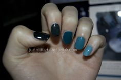Dark blue to teal gradient