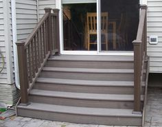 Steps Down From House Doors To Patio   Google Search