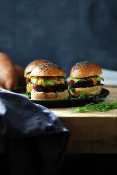 homemade vegetable burger