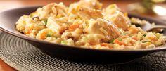 Simple Creamy Chicken Risotto