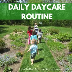 I'm sure you know or have heard that young children thrive on routine. A consistent daycare routine will help your day flow smoothly and make your daycare children feel safe and secure. Young children have very little control over their lives. Most children don't get a choice of where, when or how they spend their…Continue Reading...