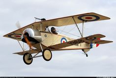 Nieuport 11 (replica)  10-1968 / 1968 At the Barossa Airshow 2015