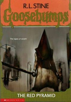 Silent Hill Goosebumps combines two of my favorite things ever.