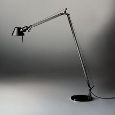 Tolomeo Reading Floor Lamp. I have one of this to add to the mix.  I use it with my (knock off) Barcelona chair for playing guitar.