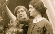 Being blind, deaf and mute didn't stop Helen Keller. Throughout the first half of the 20th century, she tackled social and political issues including women's suffrage, pacifism, and birth control. She testified before Congress, strongly advocating improving the welfare of blind people.