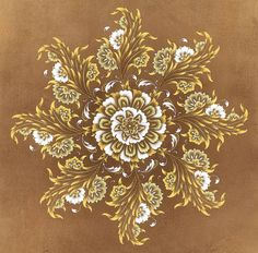 Tezhip Motif Oriental, Flourish Calligraphy, Indian Illustration, Islamic Art Pattern, Arabesque Pattern, Framed Wallpaper, Turkish Art, Principles Of Design, Gourd Art