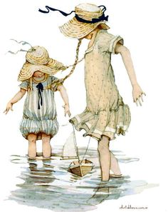 Holly Hobbie, 2 girls wading in water with a toy boat. Holly Hobbie, Hobbies That Make Money, Fun Hobbies, Hobby Lobby Crafts, Finding A Hobby, Dibujos Cute, Hobby Horse, Vintage Cards, Vintage Children