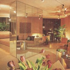 80s Interior Design, Interior Exterior, Interior Architecture, 1980s Interior, Apartment Interior, Living Room 80s, Art Deco, Décor Boho, Vintage Interiors