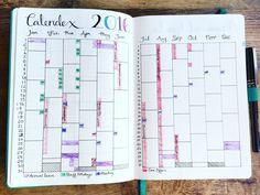 Work Bullet Journal Calendex