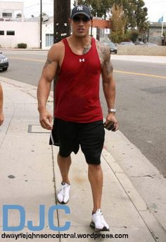 Dwayne Johnson Leaving Gym – Venice001