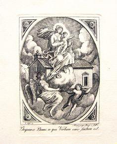 Madonna con la santa casa.
