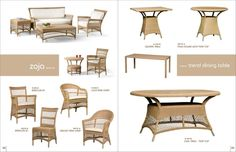 Very nice outdoor furniture with indoor concept