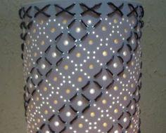 Luminárias pvc e outras idéias