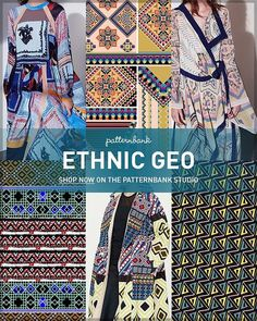 Ethnic Geo AW1718 – Hand Curated Seasonal Trend Theme on the Patternbank Studio – A hugely popular part of our site is the seasonal trend themes section – all our designers receive a monthly directional trend newsletter, they design into themes and then we collate them into seasonal trend stories. This saves our buyers valuable time when looking for those new prints. 'Ethnic Geo' is one of our current favourites, go check it out here → ptbk.co/29K9xWc
