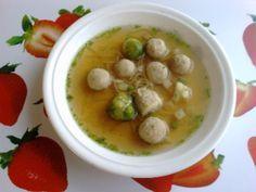 Drožďové knedlíčky do polévky