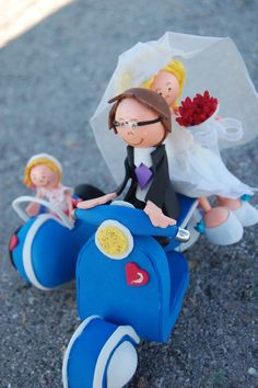 fofuchas newlyweds - idecram - Crafts