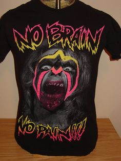 I'm putting this Ultimate Warrior shirt in my Walking Dead file for obvious reasons.