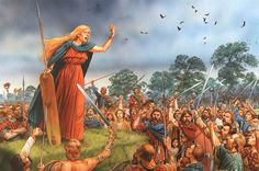 """Boudicca's Rebellion AD 60-61"", Peter Dennis"