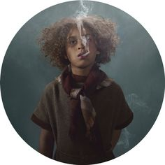 Smoking Kids: Photographer Frieke Janssens' Disturbing Exhibition Questions Youth Culture (PHOTOS)