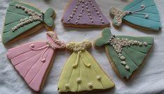 Pastel Wedding Biscuits