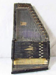 Antique Autoharp