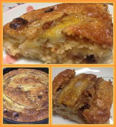 Receita de Receita de Torta seca de banana