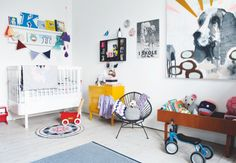 Ideas for children's bedroom. From Boligmagasinet.dk, photo Pernille Kaalund