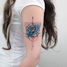 Koray Karagözler > Blue is the closest color to truth #tattoo #ink #art