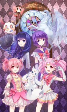 Mahou shoujo Madoka Magica x Sailor moon