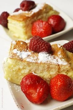 Ciasto magiczne Polish Desserts, Polish Recipes, Food Cakes, Cake Recipes, Cheesecake, Food And Drink, Sweets, Quotes, Kitchens