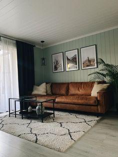 Green livingroom
