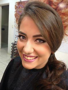 Mais uma top projeção de look para a amada Paulinha Albuquerque por Del Alvares...
