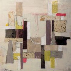 """Saatchi Art Artist Susan Washington; Collage, """"Juxtaposition II"""" #art"""