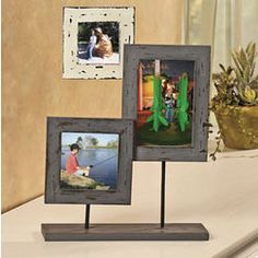 Three-Photo Frame Stand