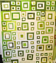 Green quilt- I probably won't make this, but it is really pretty!