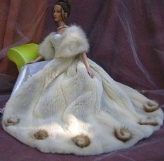 bride doll - winter bride