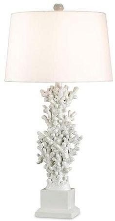 Alicante White Table Lamp