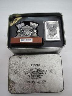 HARLEY Zippo Harley Davidson, Zippo Lighter, Fire Starters, Smoking, Guns, Cases, Vintage, Weapons Guns, Revolvers