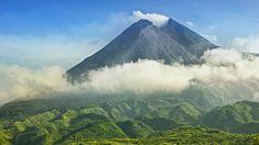 Monte Merapi: un peligroso volcán activo en Indonesia