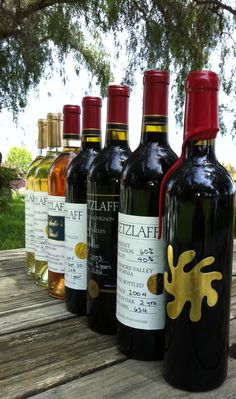 Retzlaff Vineyards, Livermore, CA.  Bad link but awesome little family run winery.  Definitely visit when you're out there!
